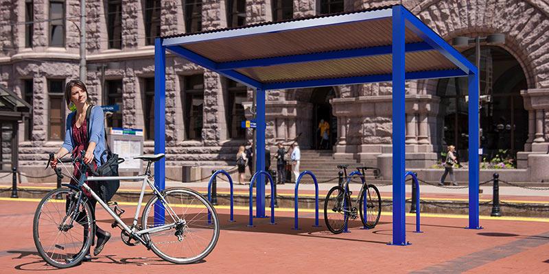 Covered Bike Storage : Bike parking guide dero