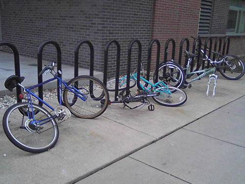 wave bike parking guide dero