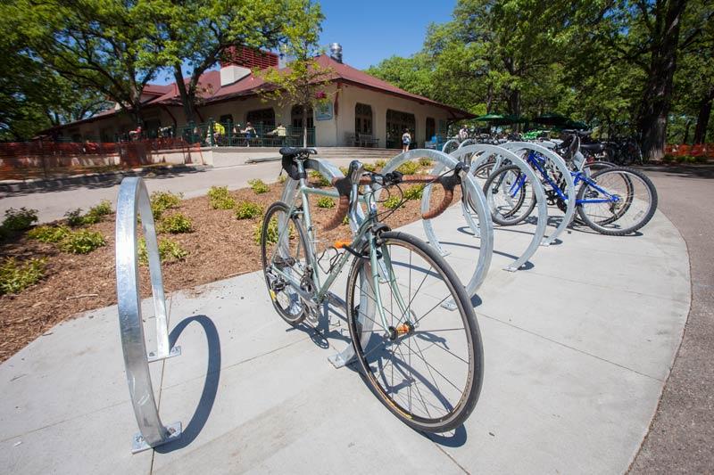 Dero Arc Rack Secure Square Tube Bike Rack