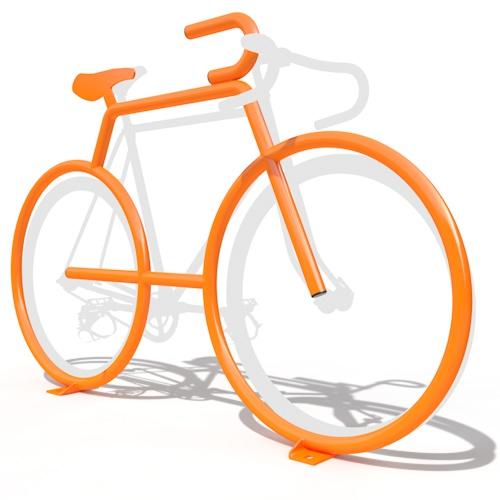 Dero Bike Bike Rack Bike Rack Shaped Like A Bike