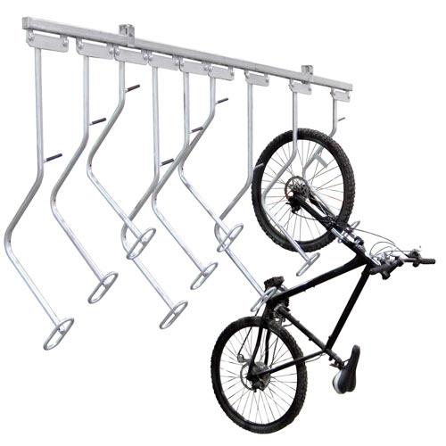 Dero Bike File U Lock Compatible Vertical Parking
