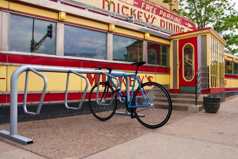 Dero Campus Rack Orderly Bike Parking