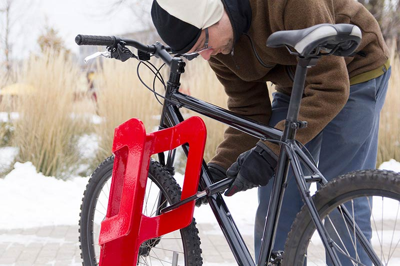 Dero Cycle Dock Efficient 2 Bike Parking Rack