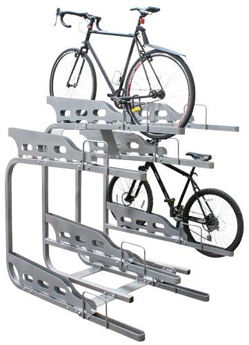 Dero Duplex 2 Tier Bike Parking System