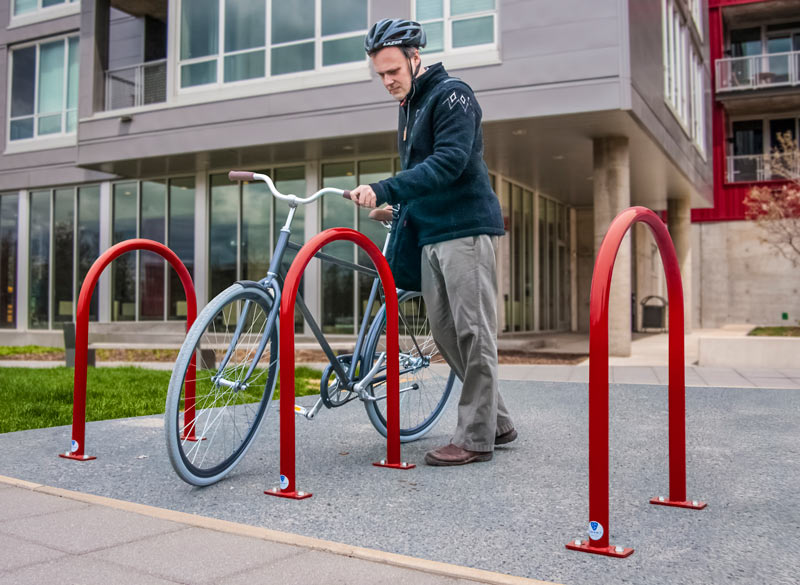Dero Hoop Rack The Bike Parking Standard