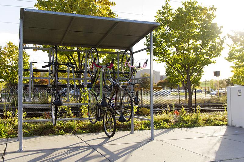 Dero Pocket Shelter Small Modular Bike Shelter