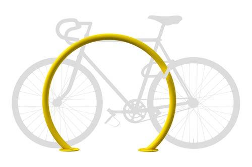 Dero Round Rack Secure Bike Parking Rack