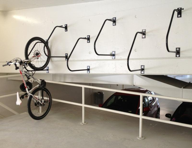 Ultra Space Saver Single Wall Mounted Bike Hanger