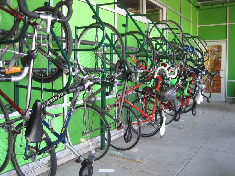 Dero Ultra Space Saver Efficient Vertical Bike Parking