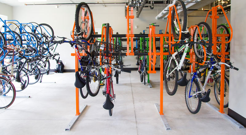 Dero Ultra Space Saver Efficient Vertical Bike Parking