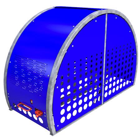 Secure, Stylish Bike Shelter