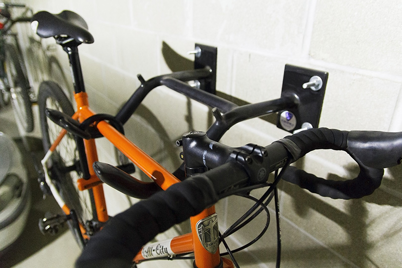 Dero Wall Rack 2 Bike Capacity Bike Hanger